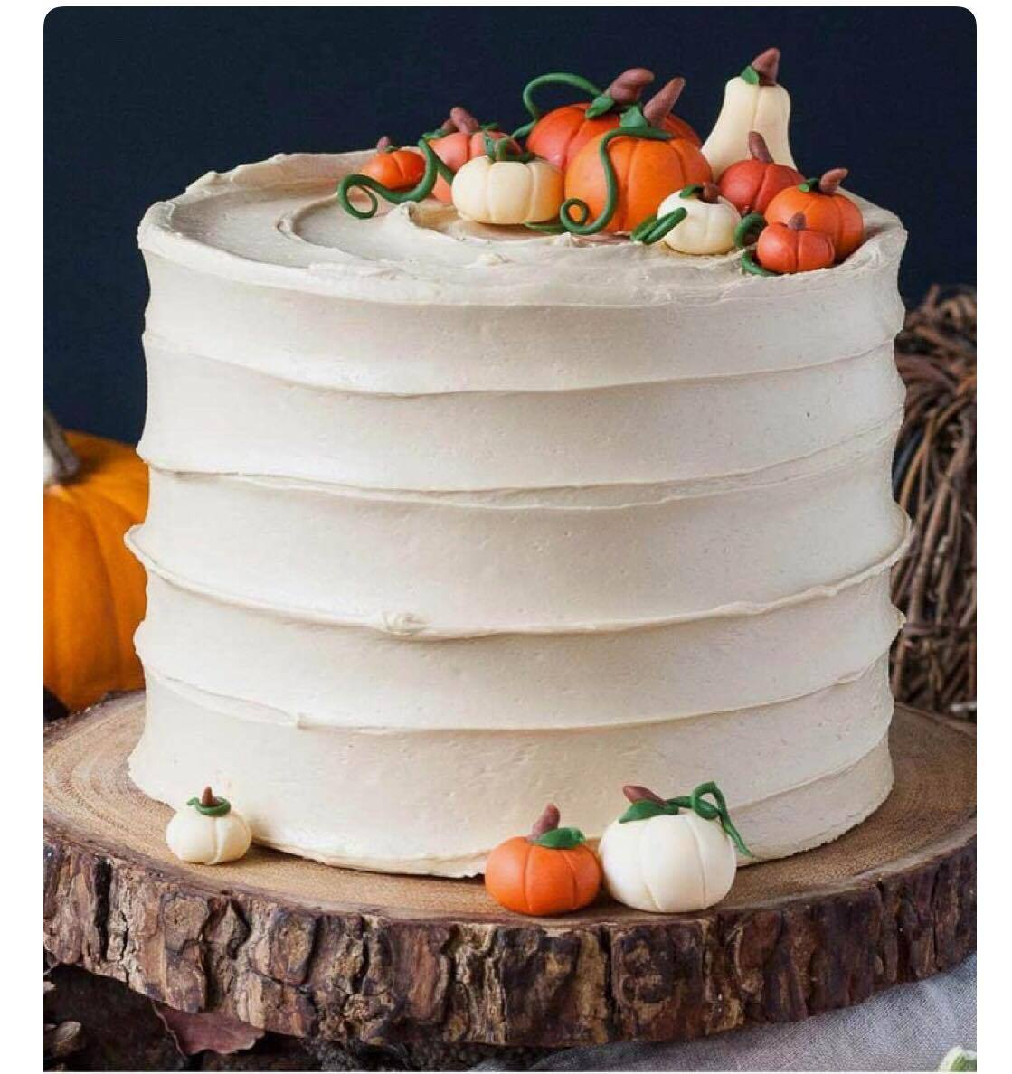 Cake Decorating: Fall Celebration Cake!The Kitchen Studio